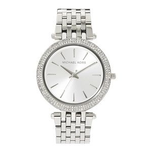 Authentic MICHAEL KORS Silver Darci Watch